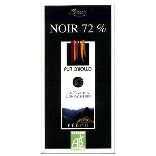 шоколад klaus горький 80% какао 100 г Шоколад Klaus горький с какао из Перу, 100 г