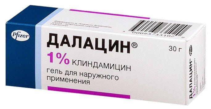 Далацин гель д/нар. прим. 10 г — купить по выгодной цене на Яндекс.Маркете