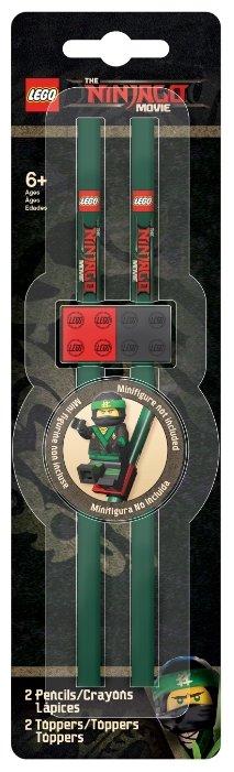 LEGO Набор чернографитных карандашей Ninjago (Ниндзяго) 2 шт (51864)