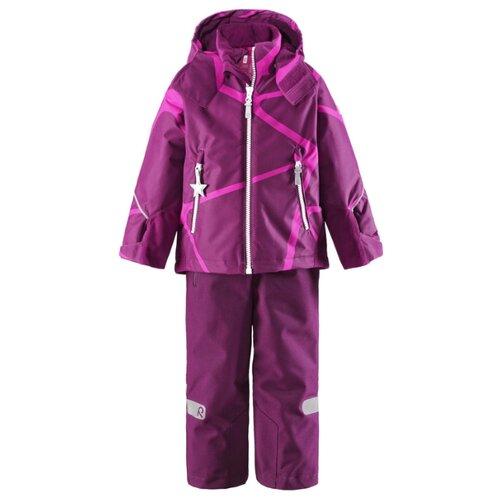 Купить Комплект с брюками Reima Kide 523102-4909 размер 140, свекольный, Комплекты верхней одежды
