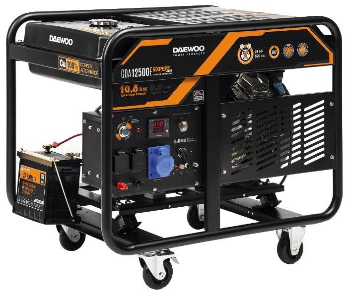 Бензиновый генератор Daewoo Power Products GDA 12500E (9500 Вт)