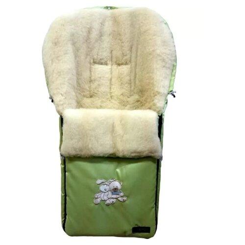 Купить Конверт-мешок Womar Aurora в коляску 95 см зеленый, Конверты и спальные мешки