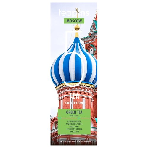 Чай зеленый Teapins Moscow 5 tea collection ассорти, 50 гЧай<br>