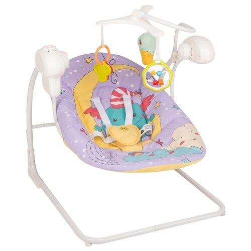 Качели Happy Baby Jolly V2 фиолетовый