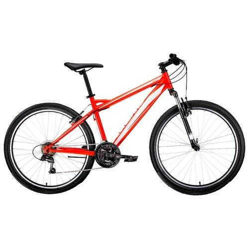 Горный (MTB) велосипед FORWARD Flash 26 1.0 (2019) красный/белый 15 (требует финальной сборки)Велосипеды<br>