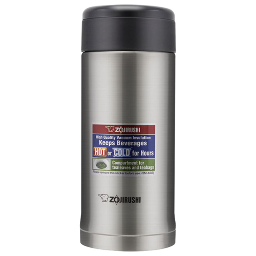Классический термос Zojirushi SM-AGE35 (0,36 л) стальной термос термочашка water sm 6122 030 038 045