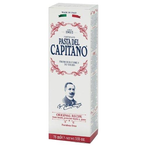 Зубная паста Pasta del Capitano 1905 Оригинальный рецепт, 75 млЗубная паста<br>
