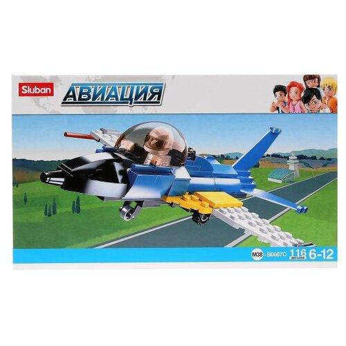 Конструктор SLUBAN Авиация M38-B0667C Самолет sluban 38 0103мв