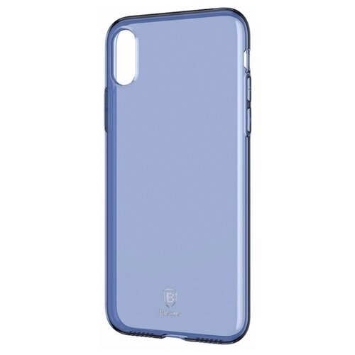 Купить Чехол Baseus Simple Series Case для Apple iPhone X transparent blue