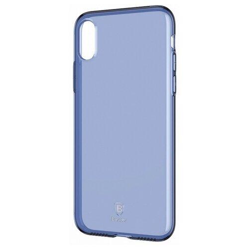 цена на Чехол Baseus Simple Series Case для Apple iPhone X transparent blue