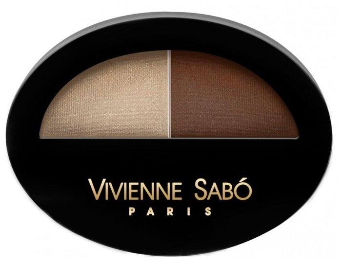Vivienne Sabo Тени для век двойные Jeter du Chic