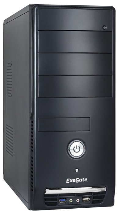 ExeGate Компьютерный корпус ExeGate CP-501U 500W Black