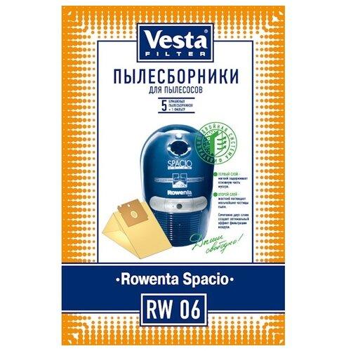 Vesta filter Бумажные пылесборники RW 06 5 шт. vesta filter rw 02 комплект пылесборников 5 шт