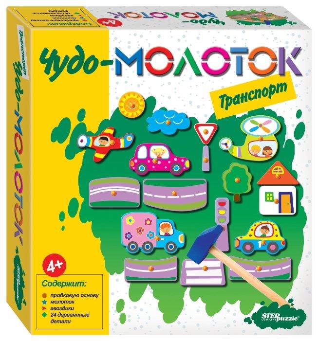 Step puzzle Мозаика Чудо-молоток Транспорт (76137) — купить по выгодной цене на Яндекс.Маркете