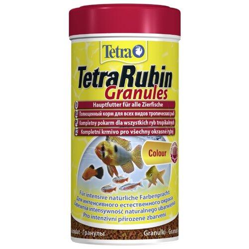 Сухой корм для рыб Tetra TetraRubin Granules 250 мл сухой корм для рыб tetra marine xl granules 250 мл