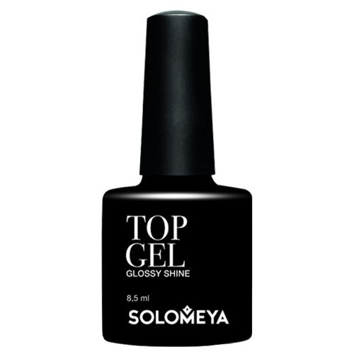 Solomeya верхнее покрытие Top Gel STG 8.5 мл бесцветный rio profi верхнее покрытие ange stretch top 30 мл бесцветный