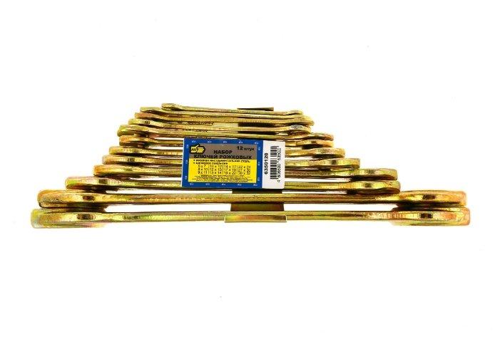 888 Набор ключей рожковых 12 шт, 6-32 мм, 6350120