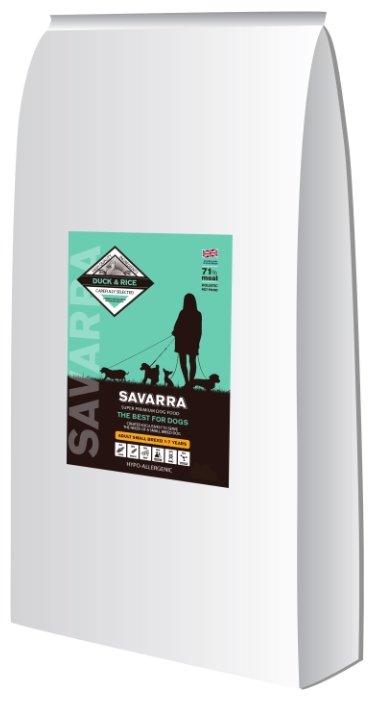 Корм для собак SAVARRA Adult Small Breed Утка и рис