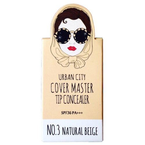 Baviphat Urban City консилер Cover Master Tip Concealer, оттенок NO.3 NATURAL BEIGE