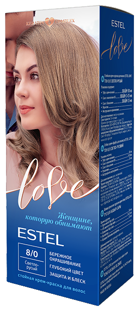ESTEL Love Стойкая крем-краска для волос — купить по выгодной цене на Яндекс.Маркете