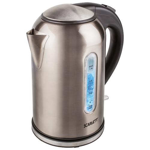 Чайник Scarlett SC-EK21S64, серый перламутр scarlett sc hs60t52 серый