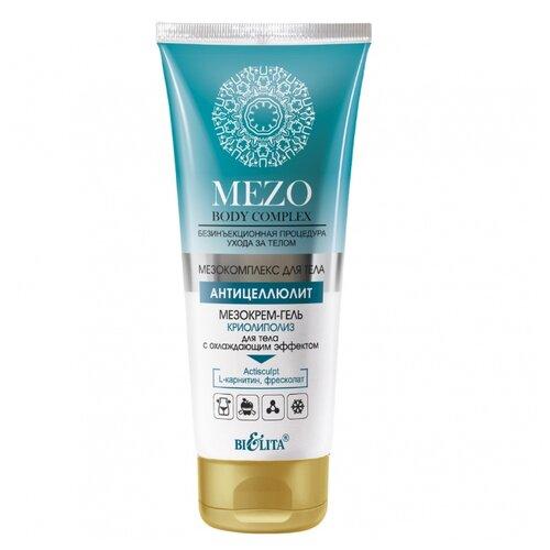 Bielita крем MEZO Body complex КРИОлиполиз для тела с охлаждающим эффектом 200 мл bielita мезобальзам mc cosmetic mezo hair complex быстрый рост и объем волос 200 мл