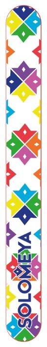 Solomeya Пилка для натуральных и искусственных ногтей Королева Цветов, 1 шт.