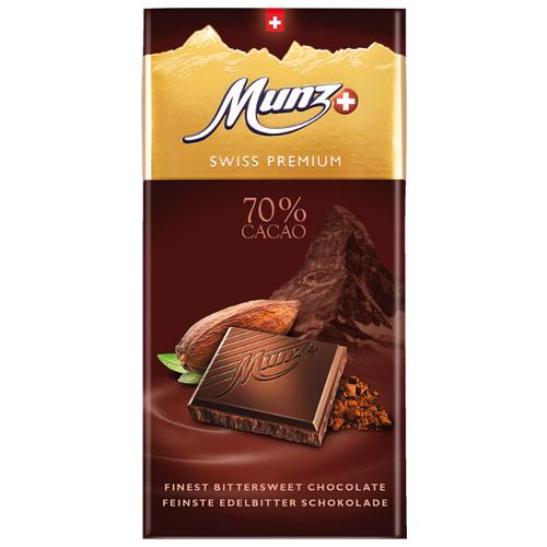Шоколад Munz горький, 100 г сандалии thomas munz thomas munz mp002xw0rao9