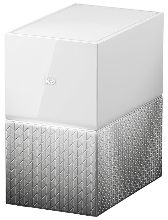 Сетевой RAID накопитель WD My Cloud Home Duo WDBMUT0160JWT-EESN 16ТБ 3,5