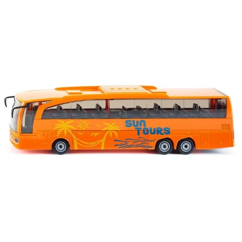 Автобус Siku Mercedes-Benz Travego (3738) 1:50 32 см оранжевый siku автобус mercedes benz travego