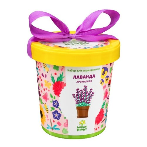 Набор для выращивания Happy Plant Горшок подарочный Лаванда ароматная цена 2017
