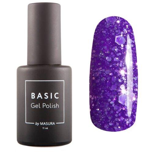 Купить Гель-лак для ногтей Masura Basic, 11 мл, глициния