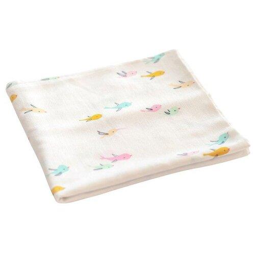 Купить Многоразовые пеленки TinyTwinkle хлопок 120х120 птички, Пеленки, клеенки