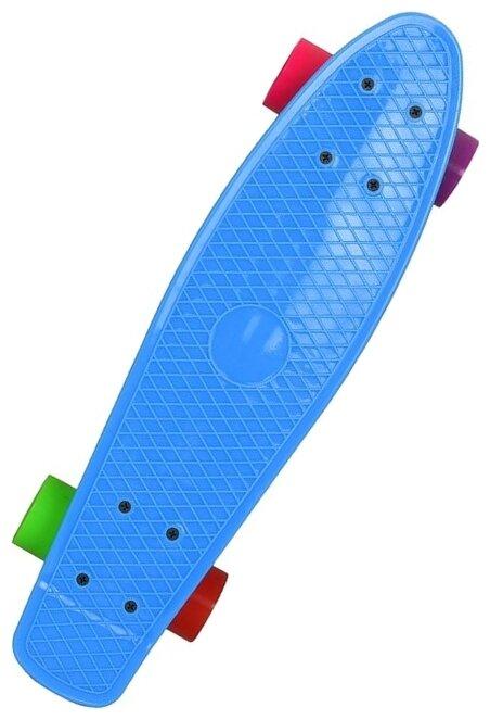 Лонгборд EVO KIDS Мини-скейт пластиковый 22
