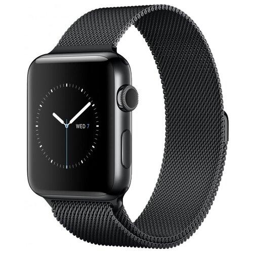 Lemon Tree Ремешок Milanese Loop для Apple Watch 42/44 мм черный