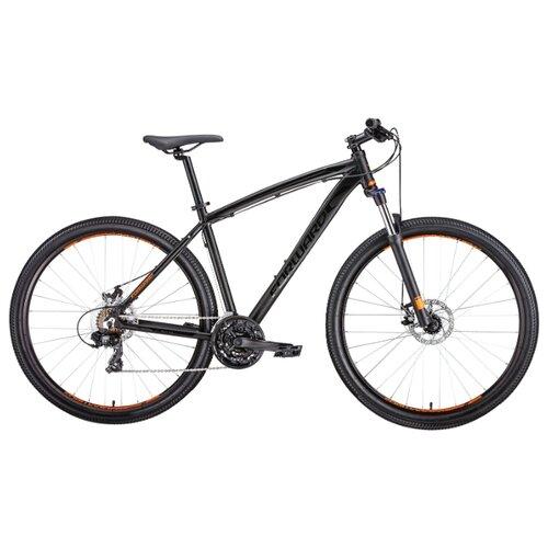Горный (MTB) велосипед FORWARD Next 29 2.0 Disc (2019) черный матовый 17 (требует финальной сборки)