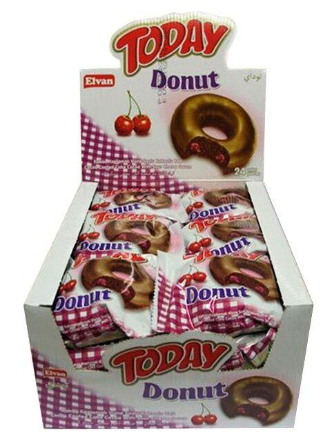 Пончик «Today Donut Cherry» 50 гр