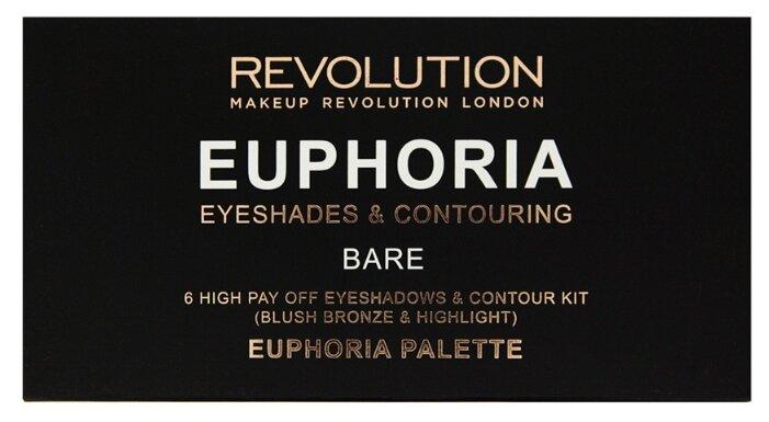 REVOLUTION Палетка для макияжа Euphoria Palette Bare
