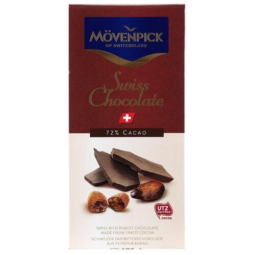Шоколад Movenpick горький, 72% какао, 70 г