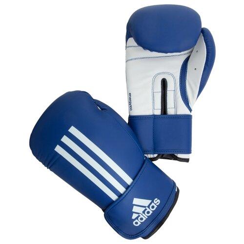 Боксерские перчатки adidas Energy 100 синий/белый 14 ozБоксерские<br>
