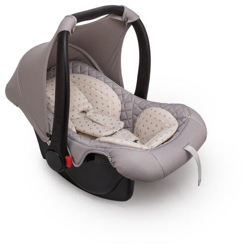 Автокресло-переноска группа 0+ (до 13 кг) Happy Baby Skyler V2, stone автокресло группа 1 2 3 9 36 кг little car ally с перфорацией черный