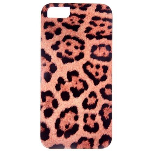 Чехол Mitya Veselkov IP5.МITYA-019 для Apple iPhone 5/iPhone 5S/iPhone SE леопардовый принтЧехлы<br>