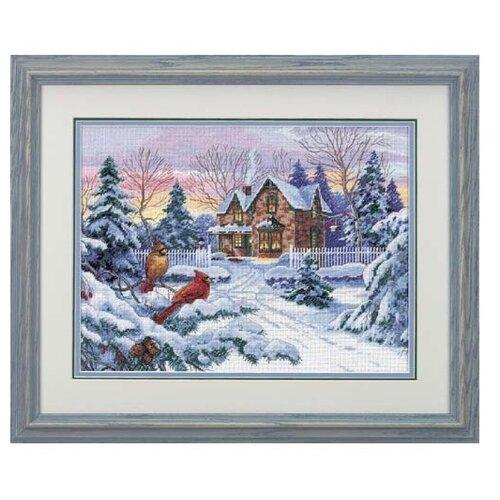 Dimensions Набор для вышивания крестиком Зимние воспоминания 41 х 30 см (35155), Наборы для вышивания  - купить со скидкой