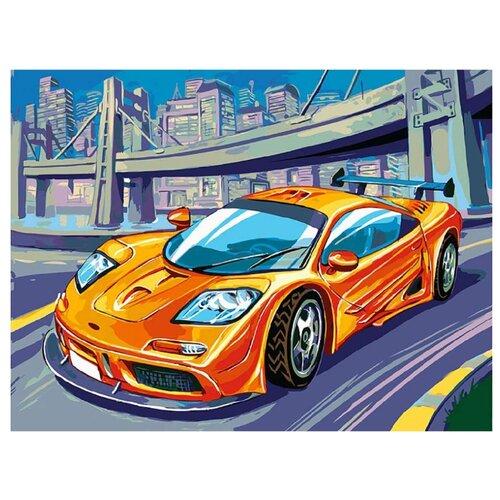 Купить Белоснежка Картина по номерам McLaren F1 GTR 30х40 см (235-AS), Картины по номерам и контурам
