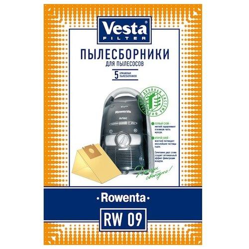Vesta filter Бумажные пылесборники RW 09 5 шт. vesta filter rw 02 комплект пылесборников 5 шт