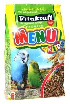Vitakraft Корм для птенцов волнистых попугайчиков Menu for kids