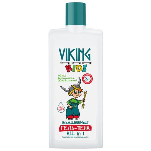 """Купить Viking Kids Волшебная гель-пена """"ALL in 1"""" 300 мл, Средства для купания"""
