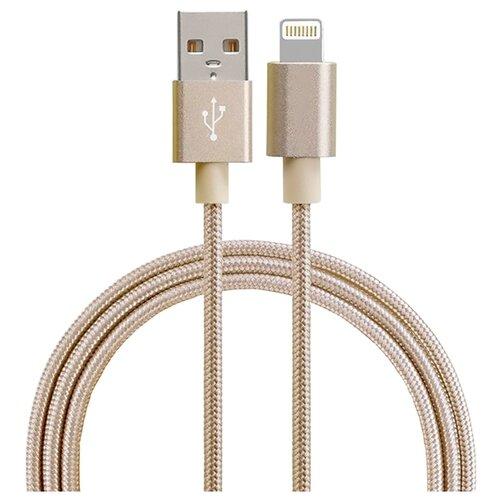 цена на Кабель Smarterra USB - Lightning (STR-AL002M) 1 м золотистый