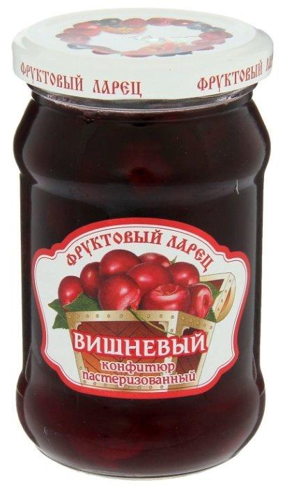 Конфитюр Фруктовый ларец вишневый, банка 350 г