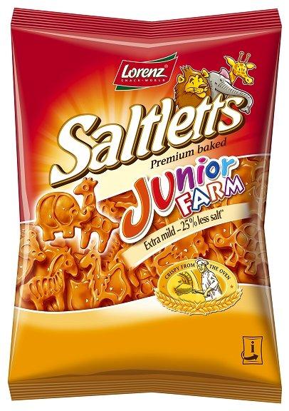 Соленый снэк Lorenz Saltletts Junior Farm 100 г